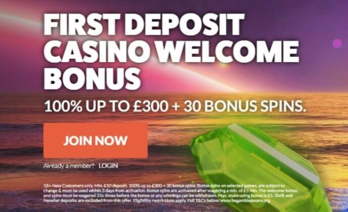 Leo Vegas Welcome Bonus Offer