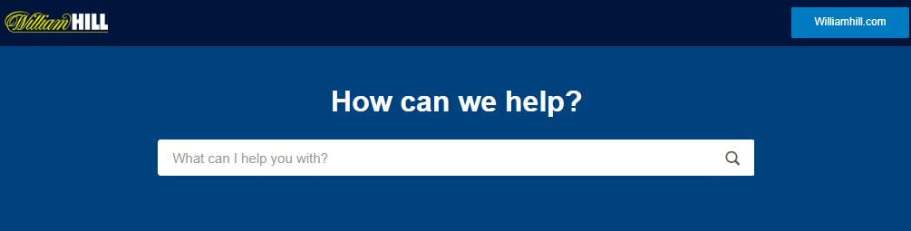 william hill support