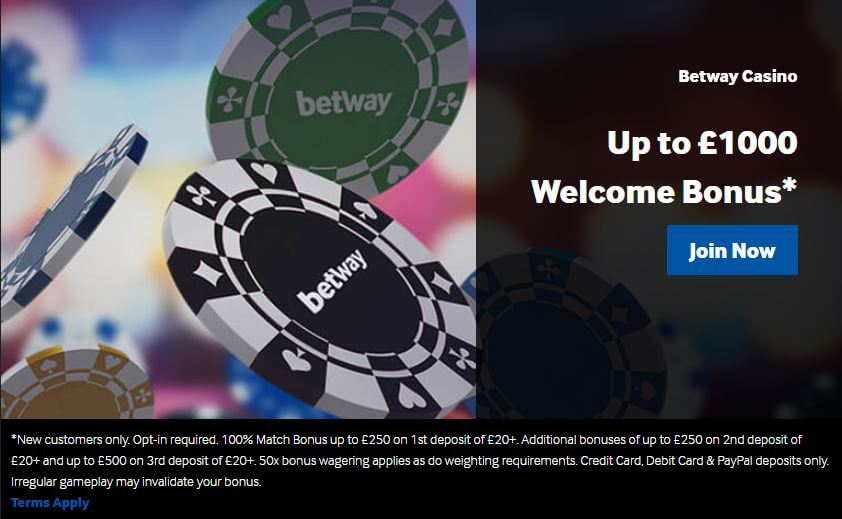 Betway Promo Code September 2019 | Up to £1000 Bonus