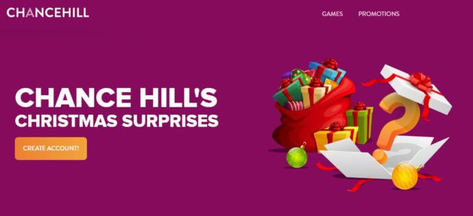 Chance Hill Bonus Code offer