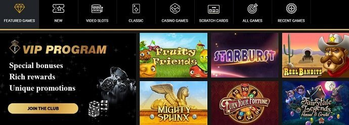 BetFashionTV Casino Games