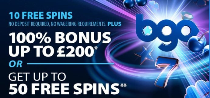 bgo welcome bonus