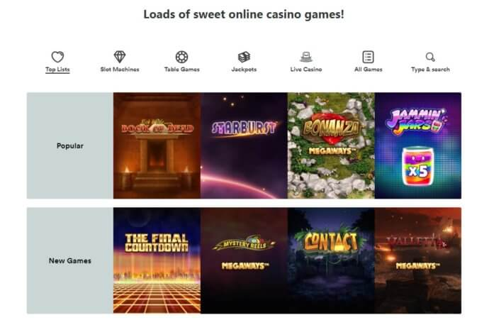 Casumo Casino Games