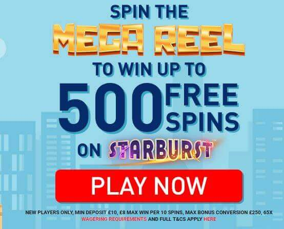 Online Casino London | Get Free Spins on Starburst