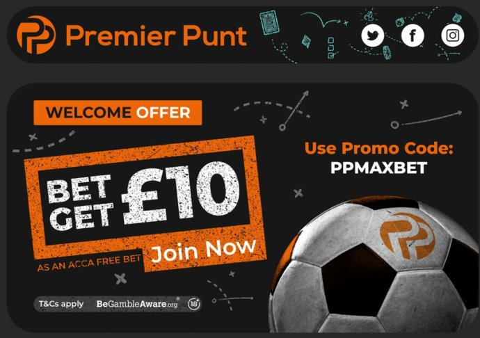 Premier Punt Welcome Offer