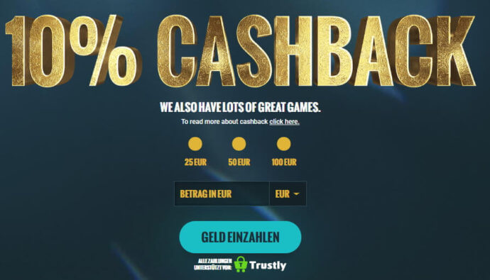 No Account Casino Angebot