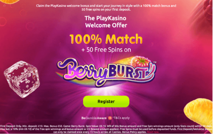 Play Kasino 2020 Register And Receive 100 Match And 50 Free Spins
