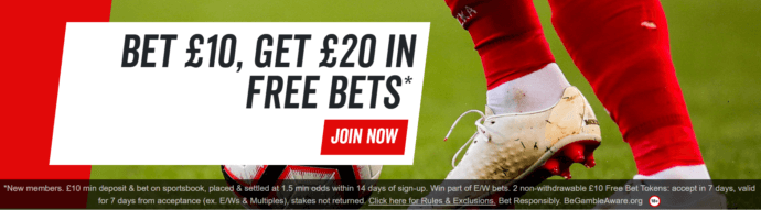 Virgin Bet bonus code: Virgin Bet sign up offer