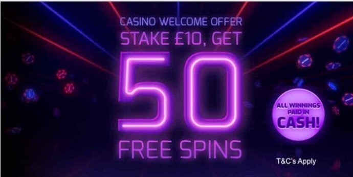 Betfred Casino Bonus