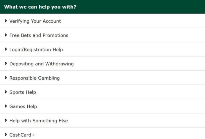 Paddy Power Customer Service